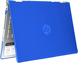 "mCover Hard Shell Case for 14"" HP Pavilion X360 14-CDxxxx / 14-DDxxxx Series Convertible 2-in-1 laptops – HP-PX360-14CD Blue"