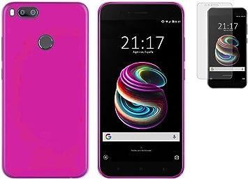 Todobarato24h Funda TPU Lisa Rosa Compatible con Xiaomi MI A1 MI ...
