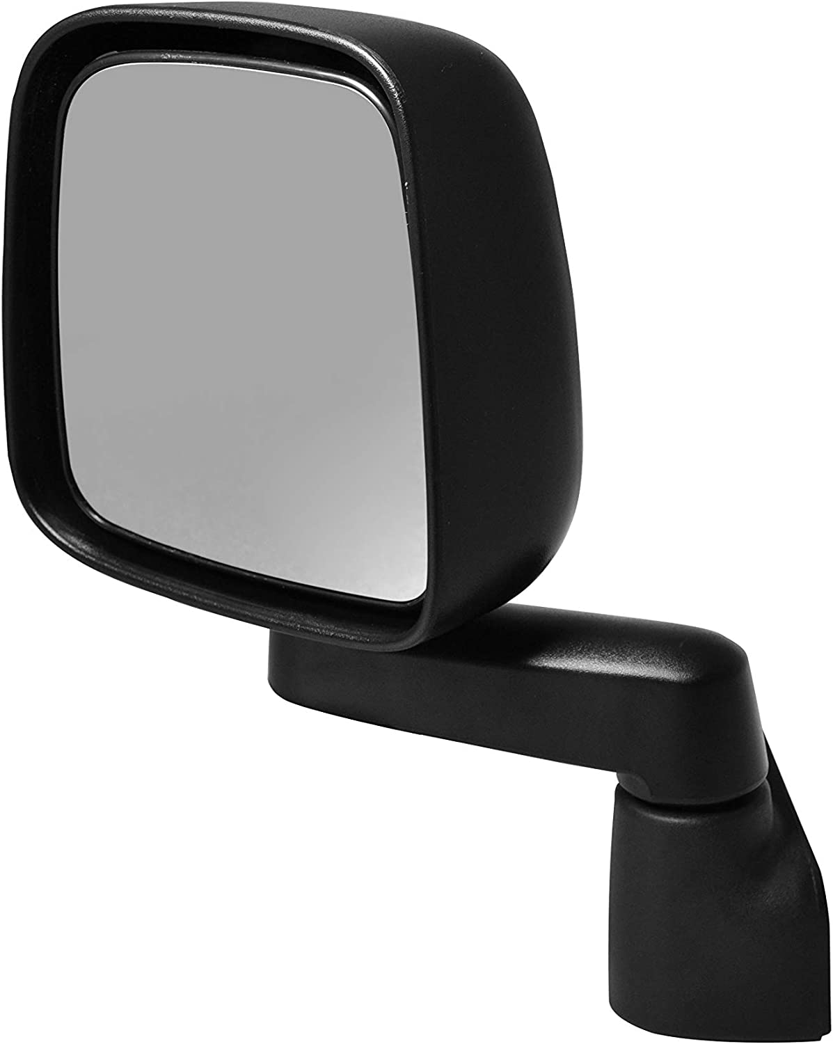 Driver Side Textured Side View Mirror for 2003-2004 Jeep Wrangler
