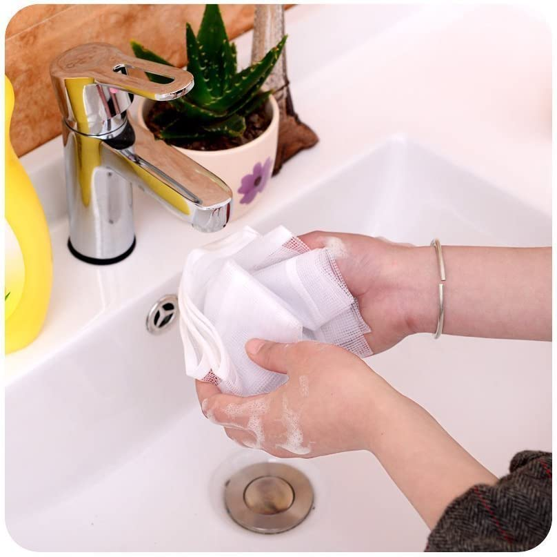 Gaocheng Heat-resistant Mesh Ironing Cloths, 90cm x 40cm,Protective Ironing Scorch Mesh Cloth (Random Color) White