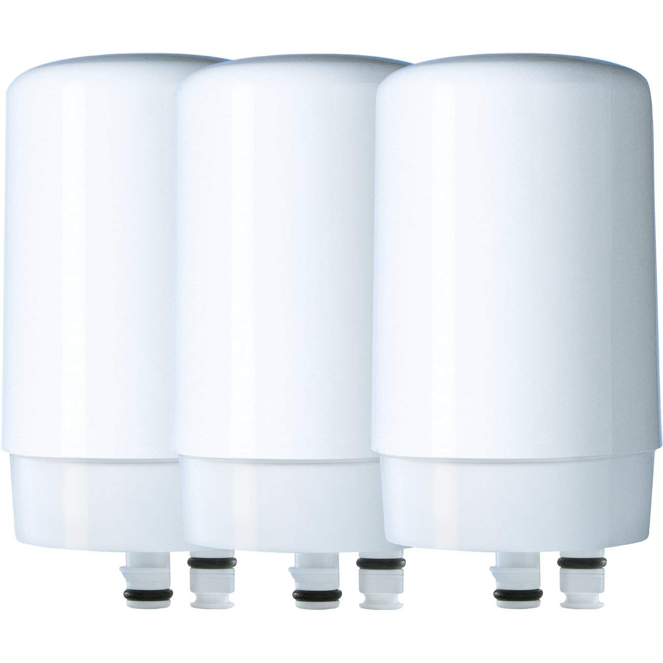 White Brita On Tap Water Filtration System Replacement Filters For Faucets 1 Count