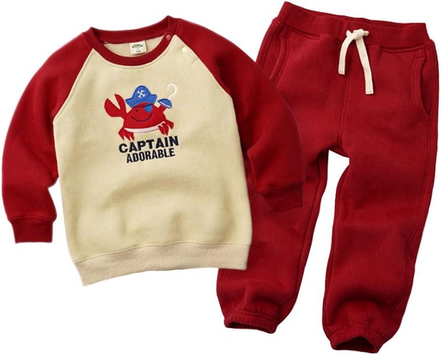 Vine Gar/çons Filles Sweat-shirt et Pantalons B/éb/é Surv/êtements Enfants V/êtement de sport
