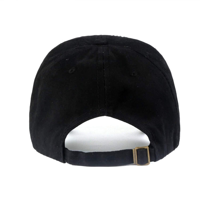 Bokun New Brand Baseball caps for Women Rhinestone hat Lady Girl Cap Black Colour Snapback Cap