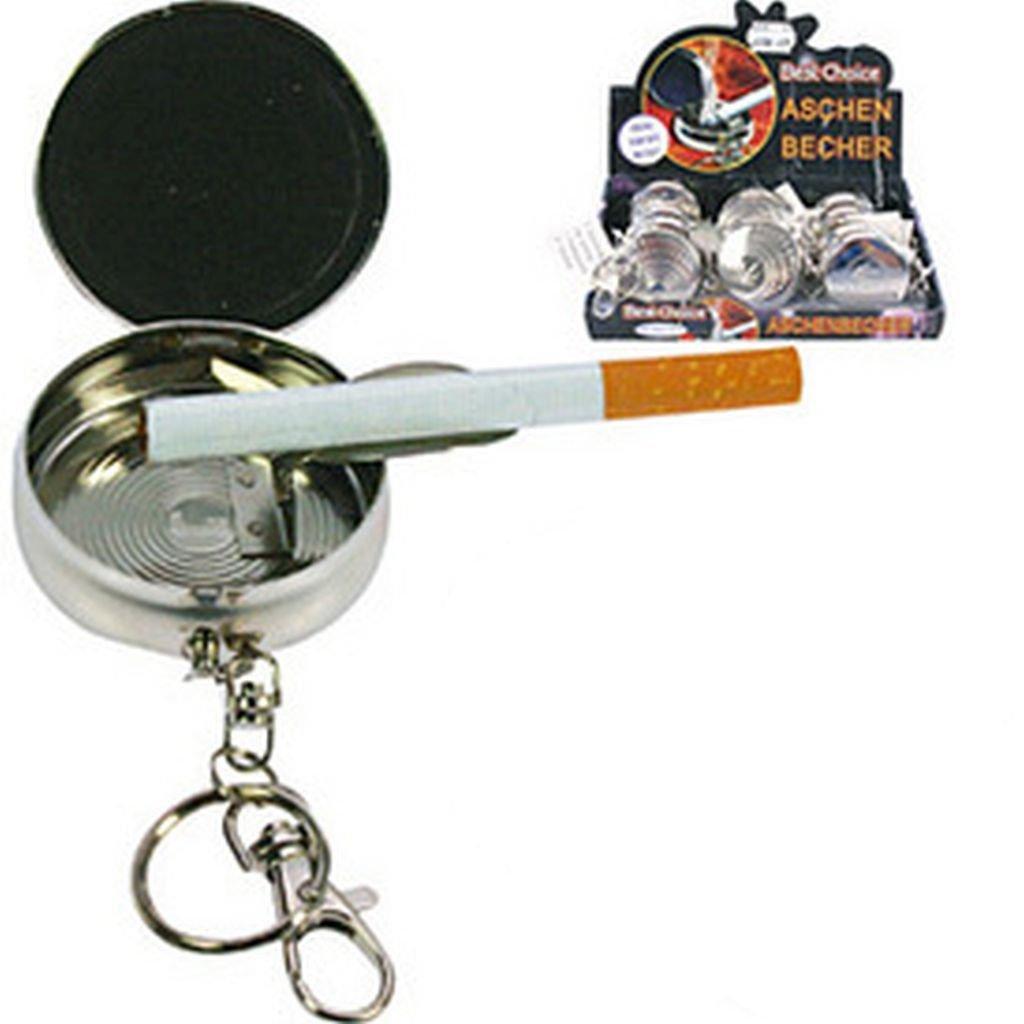 Cendrier de poche porte-clés voyage cendrier