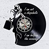 Jedfild The lovely art wall clock shoppers