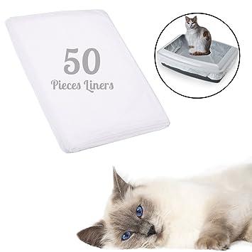 Gato basura bandeja Liners - fácil mascota Residuos Bolsa ...