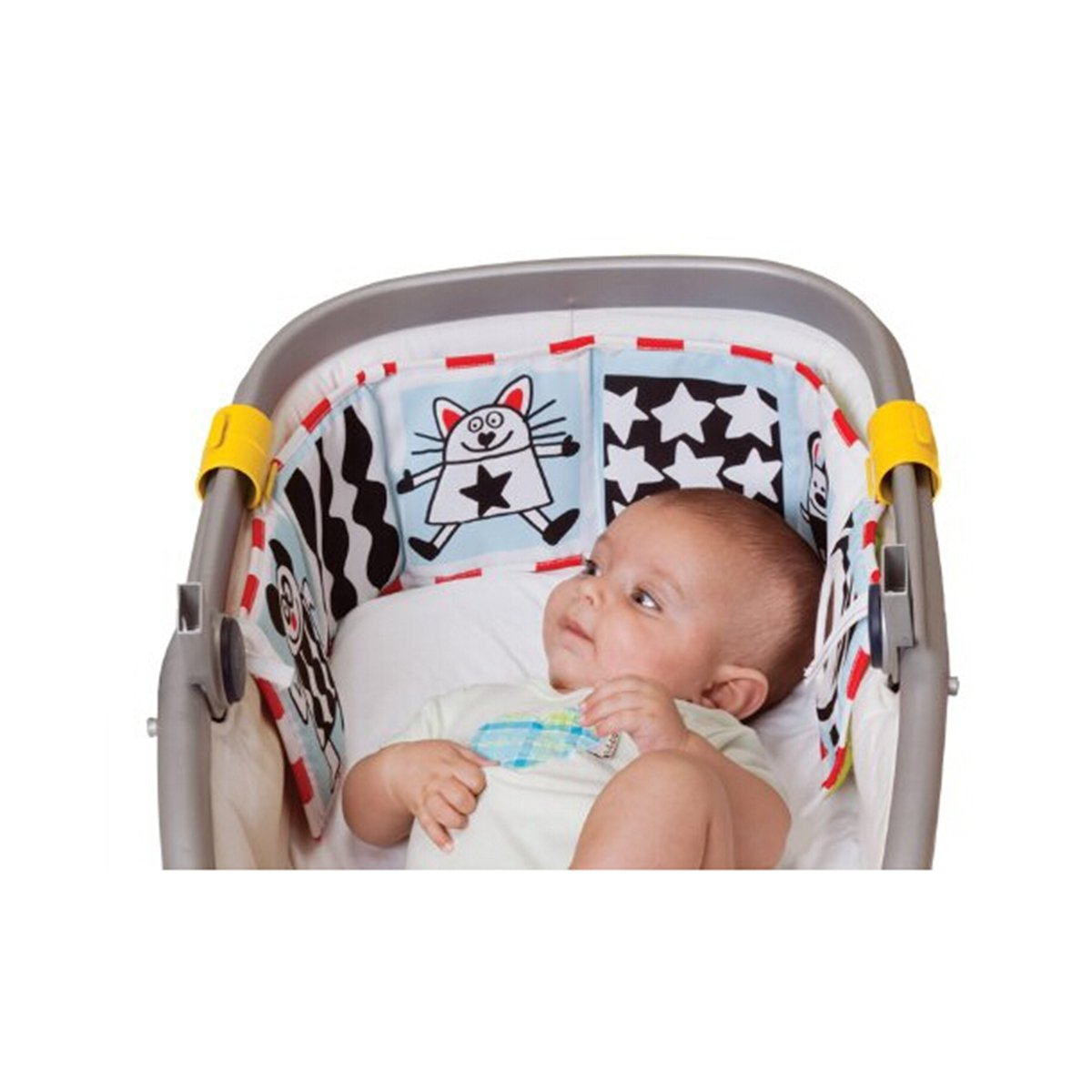 YeahiBaby Clip-on Pram Book for Baby Stroller Pram Carriage and Crib Entertainment and Development (Ladybug Pattern) by YeahiBaby (Image #6)