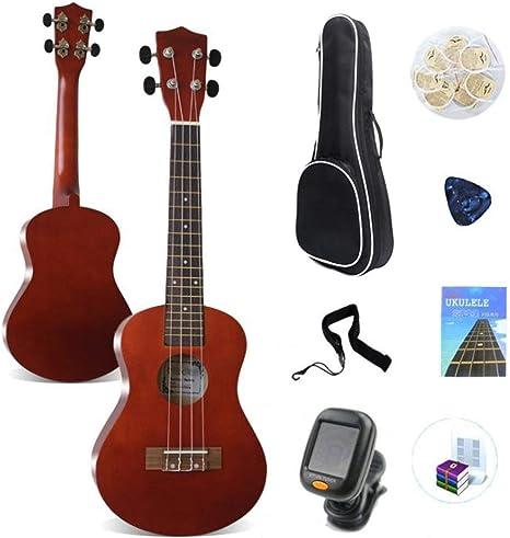 Unisex Ukulele Rosewood 23 pulgadas Ukulele de concierto Guitarra ...
