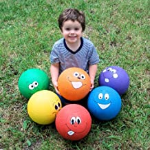 Happy Face Playground Balls - Curriculum Projects & Activities & Active Play