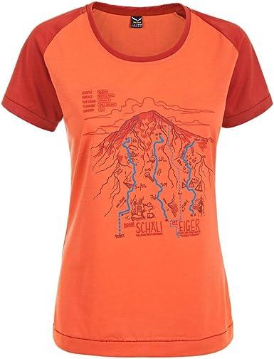 SALEWA Ghilini Piola Dry WS/S tee - Camisa/Camiseta para Mujer
