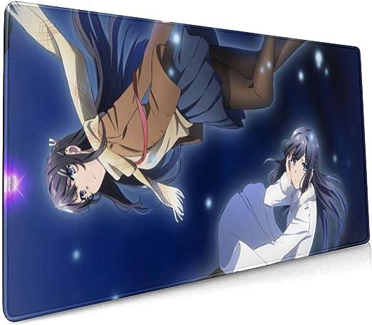 Rascal Does Not Dream of Bunny Girl Senpai Mai Sakurajima Desk Mat Mouse Pad New