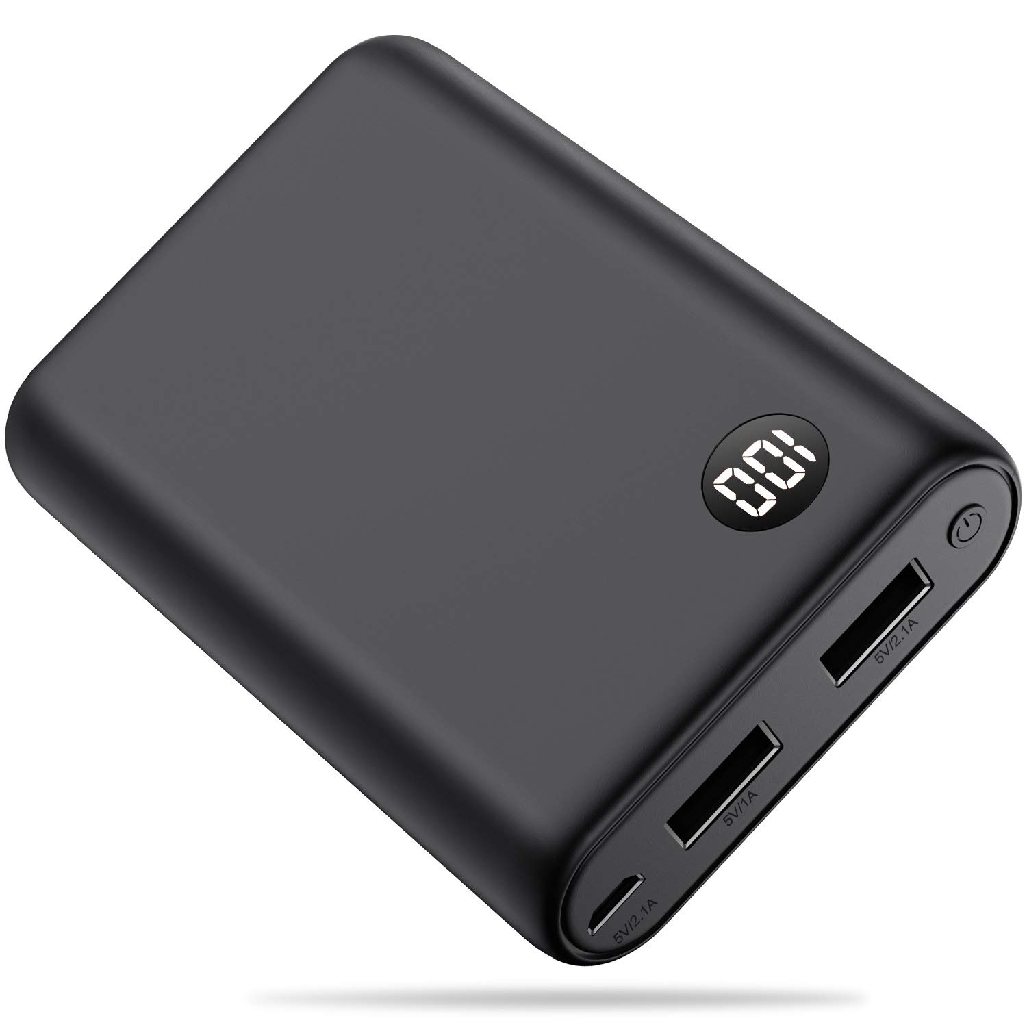 Portable charger Power bank 13800mAh [2019 Completely New] External Battery Packs Charger The Lightest High-speed charging portable Phone charger Compatible with SmartPhone, Android,Tablet and more