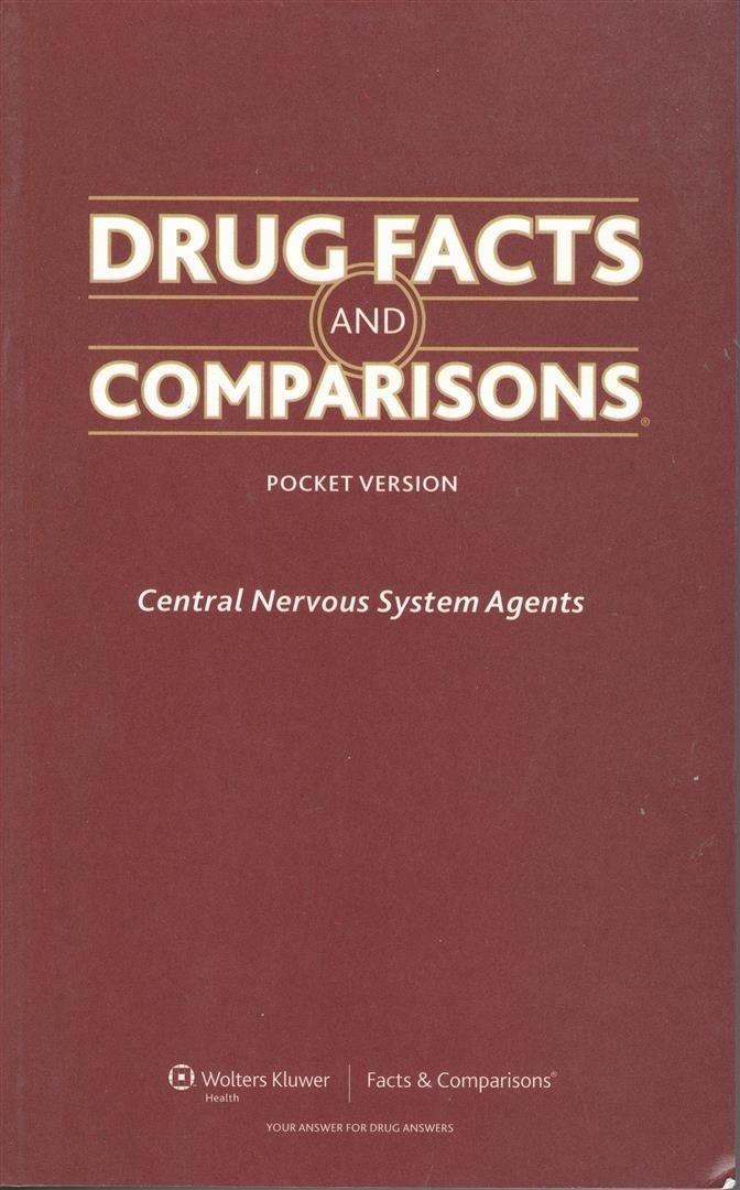Drug Facts And Comparisons Central Nervous System Agents Pocket
