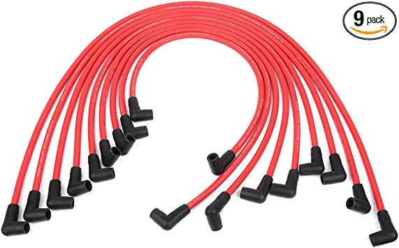 SCITOO Ignition Wire Sets New 25cm 12192364 Fits for GMC W3500 Forward//Yukon//Savana 3500// Savana 1500// Savana 2500 Chevy W3500// Tahoe// K3500// K2500 1995-1999