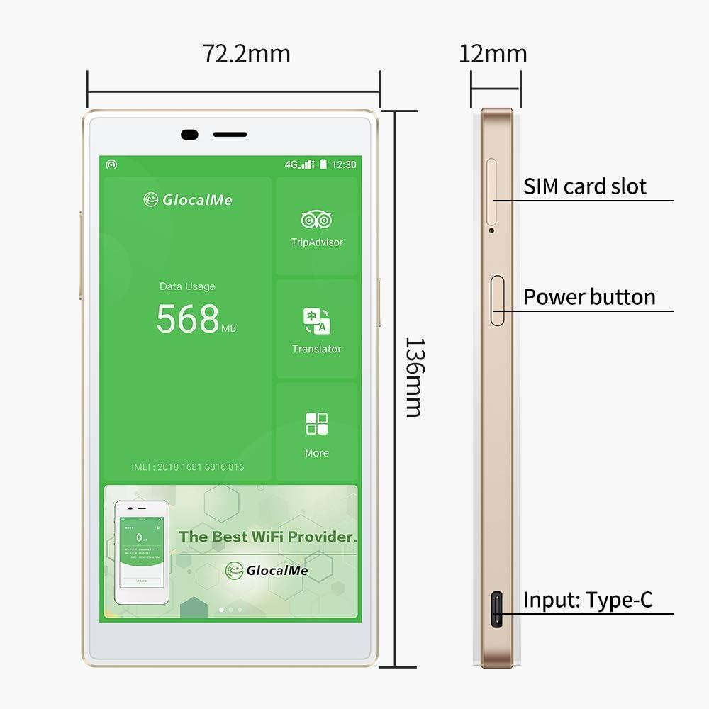 GlocalMe G4 Hotspot WiFi Mobile dor/é