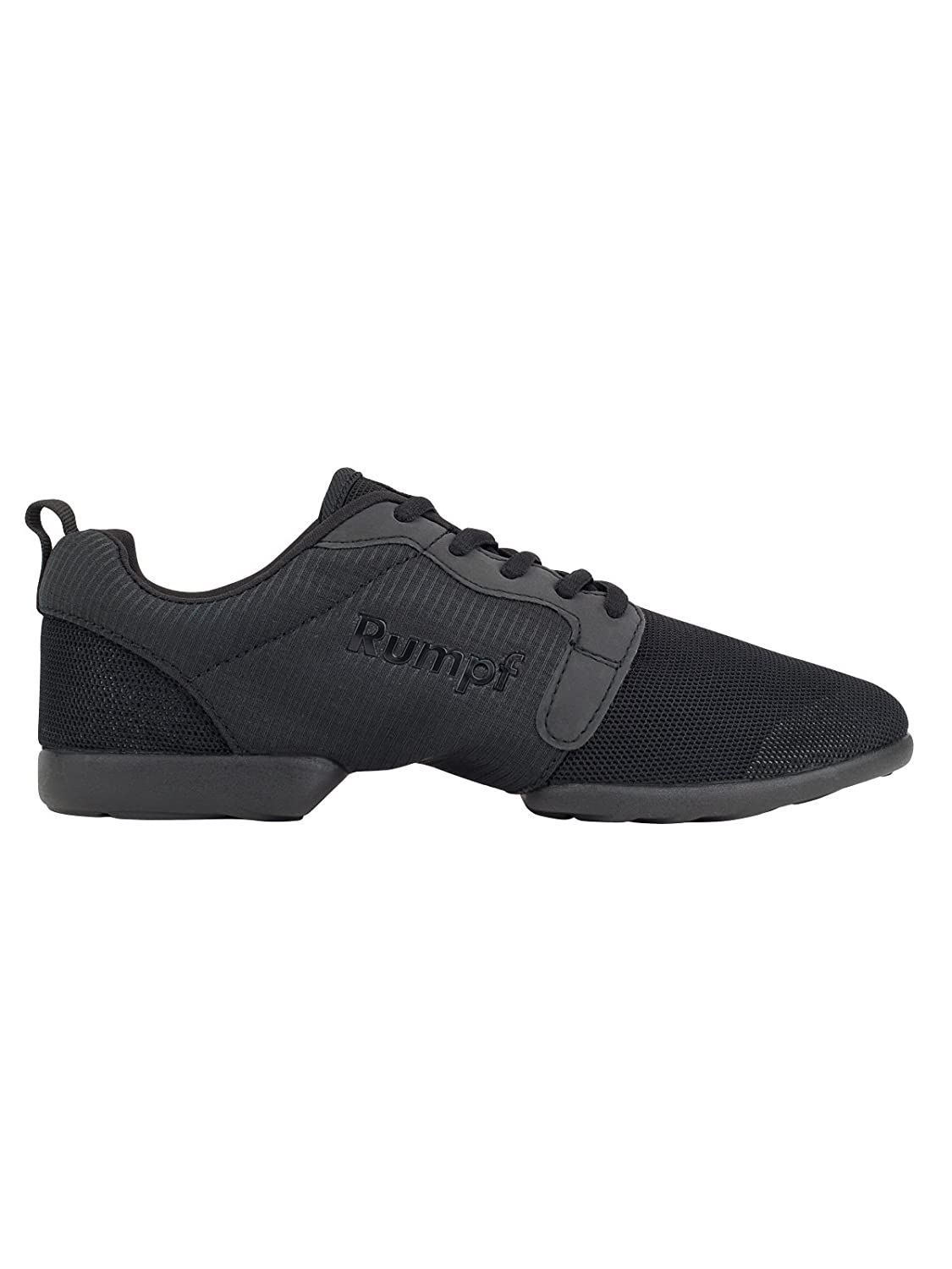 Rumpf Mojo Dance Sneaker Black PU Split Sole Men Women Lightweight Breathable Professional Sneaker