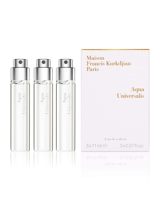 Aqua Universalis Eau de Toilette Travel Spray Refills, 3 x 0.37 oz./ 11 mL Brand New and Genuine!