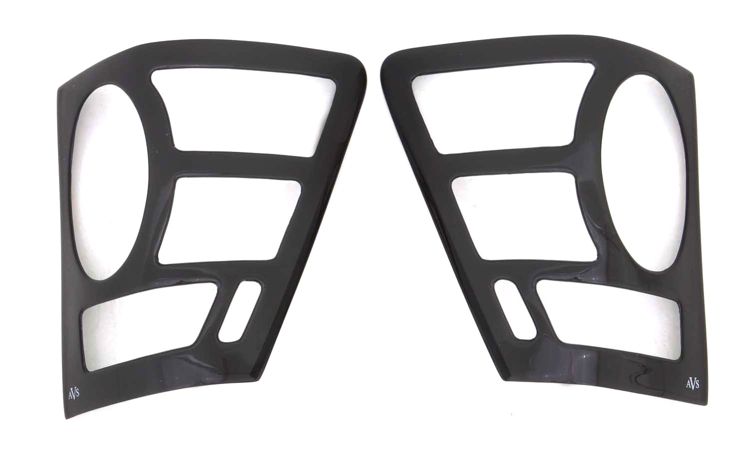 Auto Ventshade AVS 33964 Smoke Blackout Tail Shades for Ford F-150
