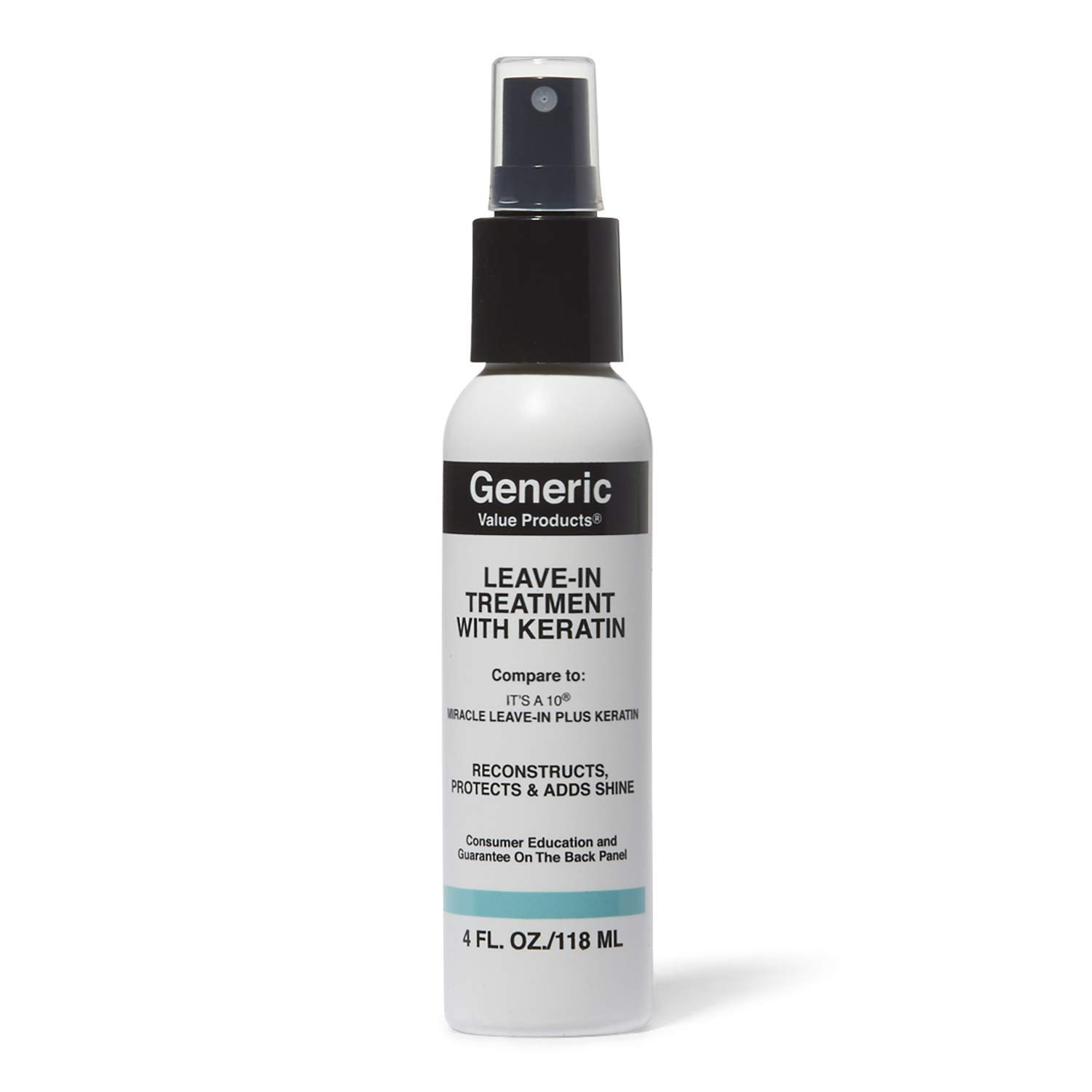 GVP Leave In Treatment with Keratin Compare to 10 Miracle Leave-in Plus Keratin