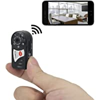 Fredi Motion Activated Mini Hidden Camera 720P HD for Android & iOS Devices