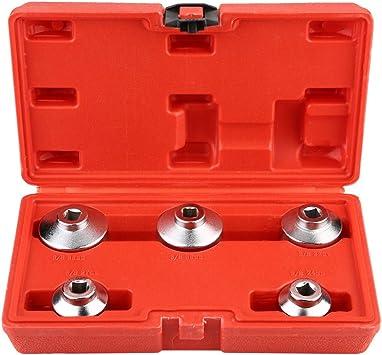 chiave Keenso 32mm Coppa rimozione chiave 3//8 pollici Attrezzo per alloggiamento presa chiave filtro olio