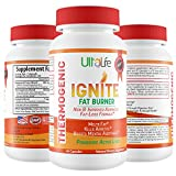 Ignite's 60 Day Fat Burning Weight Loss Diet Pills for Men &...
