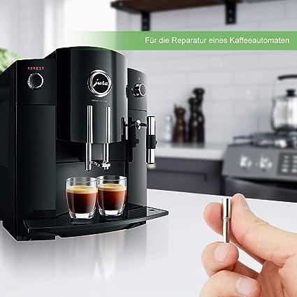 AIEVE Llave de cabeza ovalada con cabeza ovalada y punta ovalada, herramienta de reparación compatible con JuraKrupsAEG Café automática para