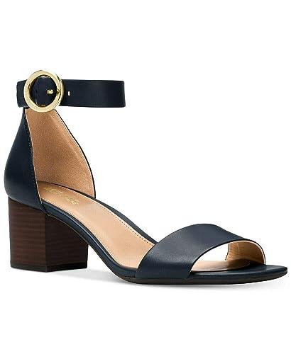 07775480d81 Image Unavailable. Image not available for. Color  Michael Michael Kors  Lena Block Heel Sandal ...