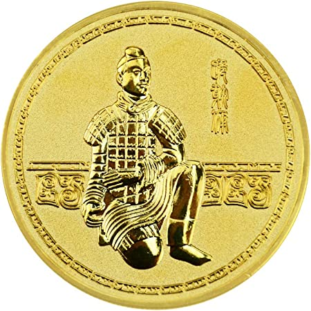 Terracotta Warriors Commemorative Coin Collection Chinese History China Souvenirs Terracotta Army
