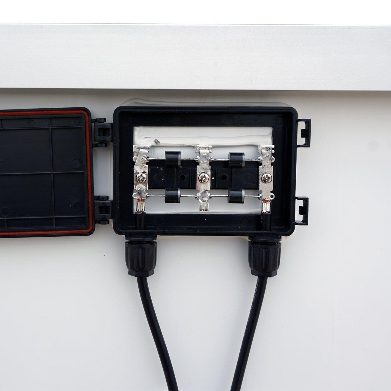 Eco-Worthy 300/W 2/PCS 160/W polycristallin Panneau solaire photovolta/ïque PV module pour Home RV Bateau chargement de la batterie