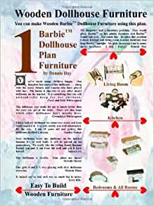 barbie dollhouse plan furniture dennis day 9781435714564