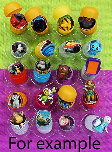 20Psc Mixed For Girls And Boys From Kinder Surprise Eggs  1 7 Inches  And Other Eggs  Chupa Chups And Otherin Eggs   In Shells Capsules Party Favor Toy Filled Easter  Birthday Gift Present  Toppers
