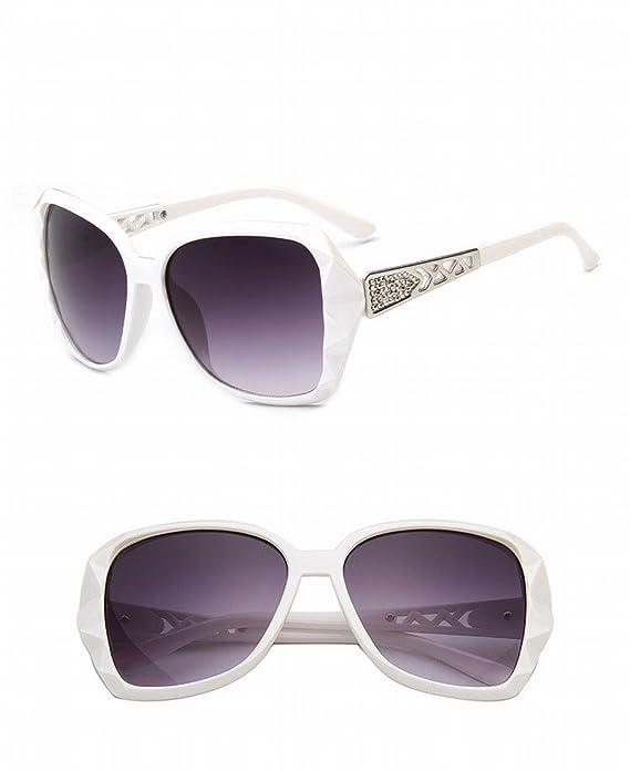 art- und weisesonnenbrille 5101 Retro- Große rahmen-frauen sonnenbrille sanshou sonnenbrille Rotwein 7LLJCv