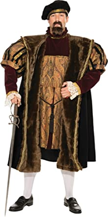 Adult Henry VIII English King Renaissance Medieval Deluxe Costume
