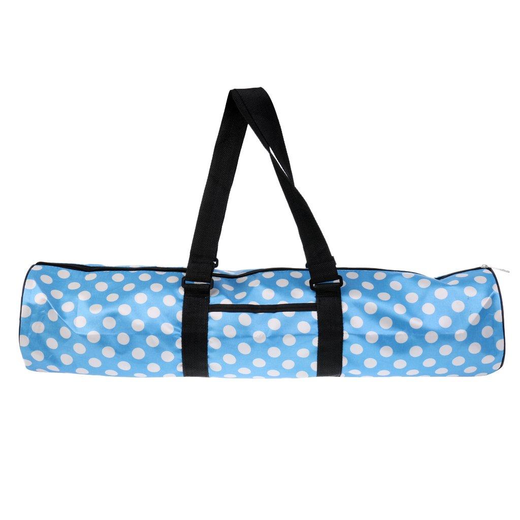 Sharplace Waterproof Oxford Cloth Large Yoga Mat Bag Carrier Adjustable Strap Zipper Pocket