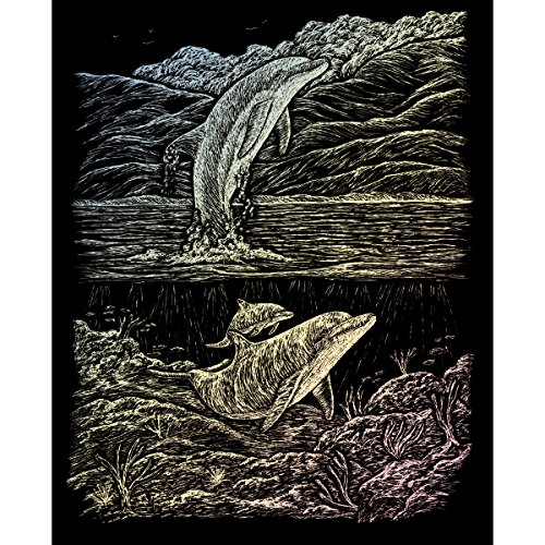 Royal and Langnickel Holographic Engraving Art, Dolphin Cove