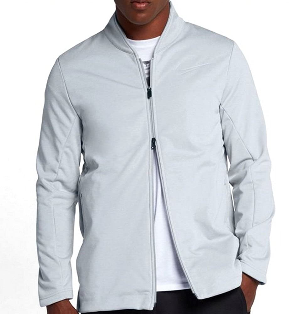 ad30769a7b66 Nike KD MVP Men s Basketball Jacket Light Gray 856426 012 Size XXL at  Amazon Men s Clothing store