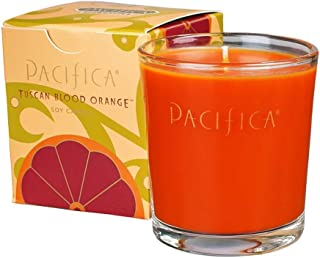 product image for Pacifica Tuscan Blood Orange 5.5 oz Soy Boxed Glass Candle