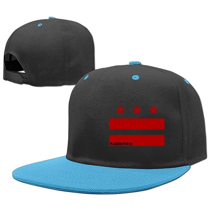 ... coupon code for washington dc flag kids flat peak cool rock punk snapback  hats e2e45 d1a38 f935cdae3e6f
