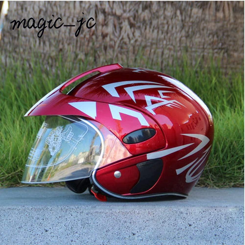 Magic-JC Childrens Helmets Motorcycle Harley Battery car Baby Childrens Helmet Autumn Winter hat ski Helmet ice Skating Helmet