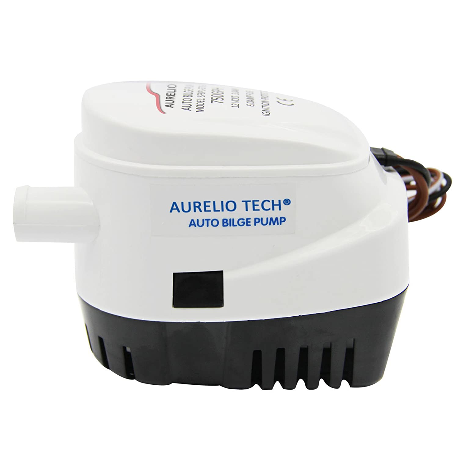 61X30Rmk3NL._SL1500_ amazon com aurelio tech 12v automatic submersible boat bilge seaflo automatic bilge pump wiring diagram at couponss.co