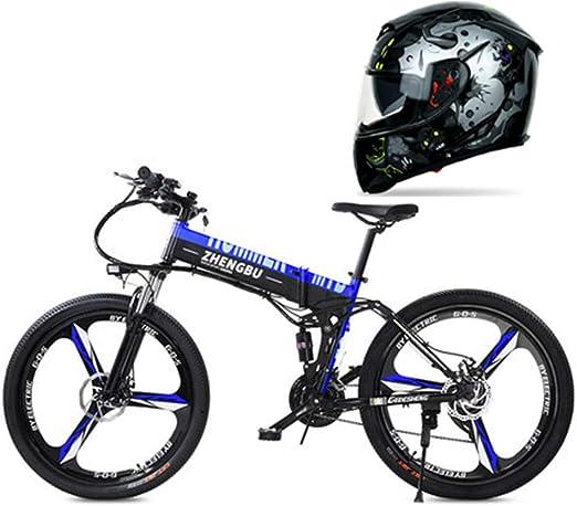 Hxl Bicicleta electrica Bicicleta de montaña eléctrica de 26 ...