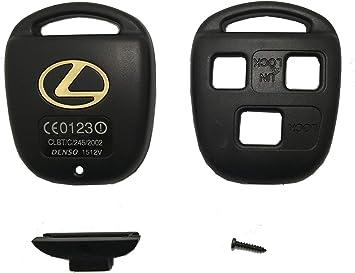 Lexus Replacement Key Shell Remote Fob Housing GX470 RX350 ES300 RX300 Easy DIY