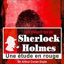 Une étude en rouge (Les enquêtes de Sherlock Holmes 58)