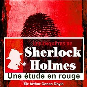 Une étude en rouge (Les enquêtes de Sherlock Holmes 58) | Livre audio