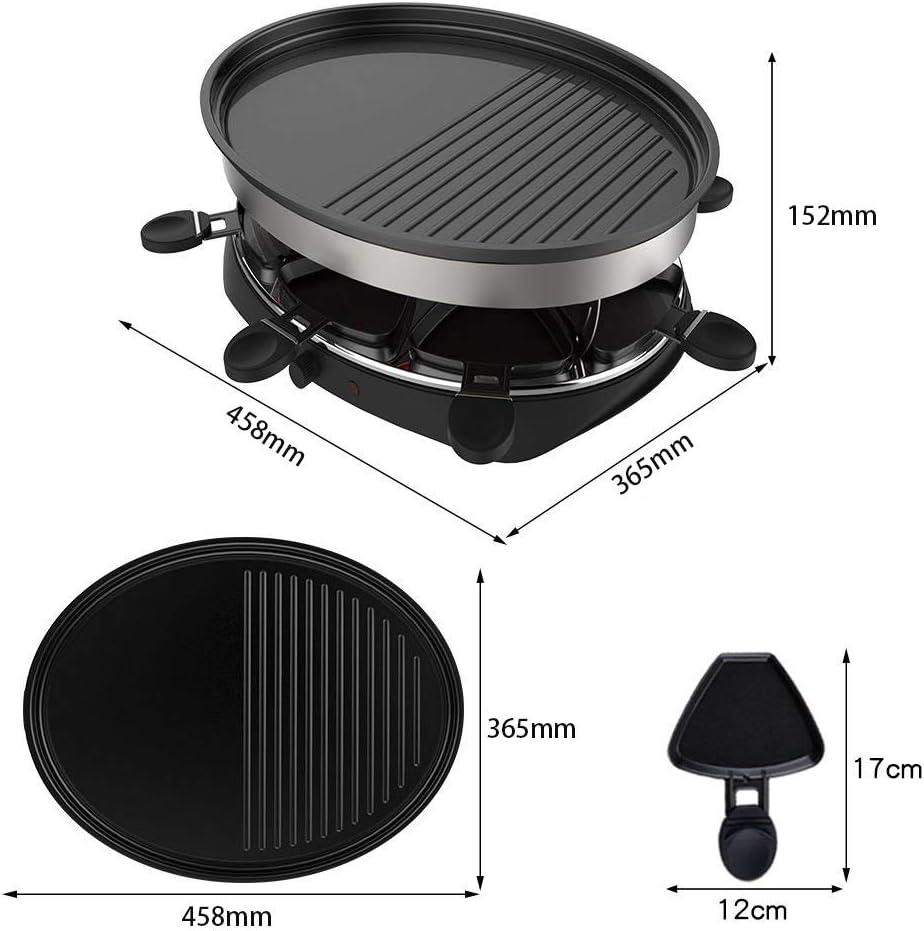 RHSMM Grill Table De Barbecue en Intérieur sans Fumée Gril