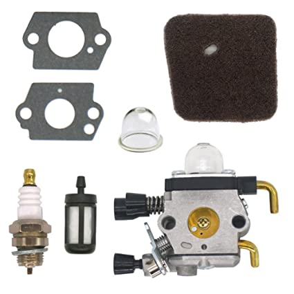 NIMTEK Carburetor With Air Filter Fuel Filter