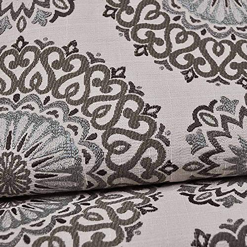 eLuxurySupply Fabric by The Yard - Polyester Blend Upholstery Sewing Fabrics - Brianne Twilight Pattern ()