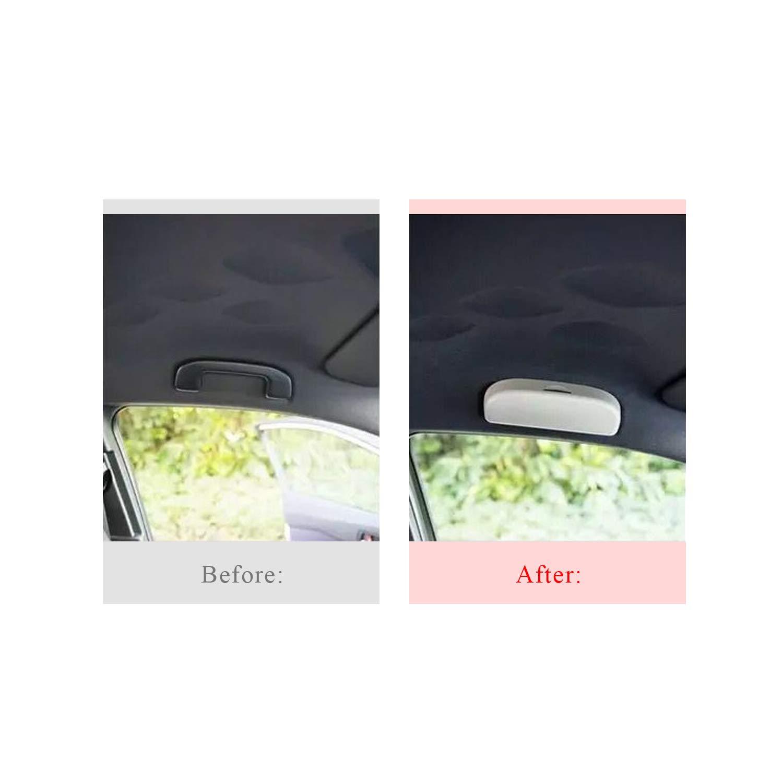 Beige LFOTPP Auto Sonnenbrillenhalter Brillenetui Auto Innenraum f/ür C-HR NGX50 ZYX10
