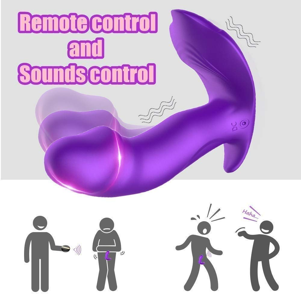 USQD Wireless Remote Control Super Vibrator Panty 10 Speed Extremely Pleasure Wonderful Relax Personal Toy Lifelike Extremely by USQD